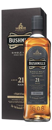 Bushmills 21 Anos