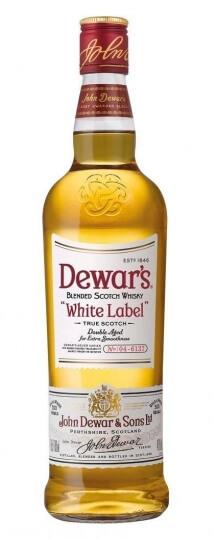 Dewars White Lable