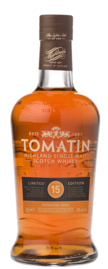 Tomatin 15 Anos Moscatel Cask